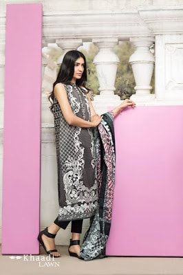 Khaadi-summer-lawn-prints-embroidered-shirt-2017-collection-3