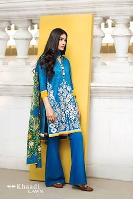 Khaadi-summer-lawn-prints-embroidered-shirt-2017-collection-4