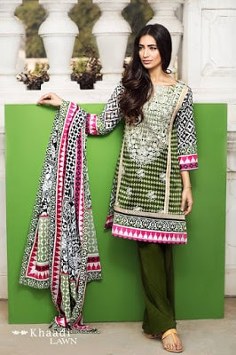 Khaadi-summer-lawn-prints-embroidered-shirt-2017-collection-6