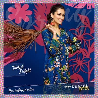 Khaadi Turkish Kurta Collection 2018 for Summer