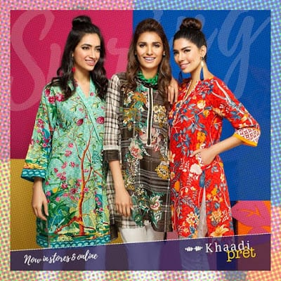 Khaadis new pret wear kurta 2017 dresses collection