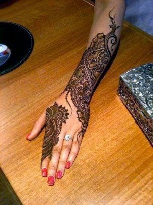 indian bridal henna designs