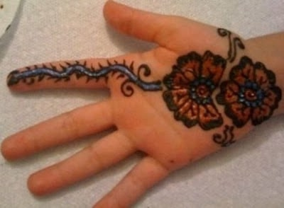 Easy And Simple Mehndi Designs For Kids Hands 2018 Collection