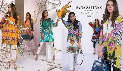 Latest Sana Safinaz Collection 2018 lawn prints spring summer