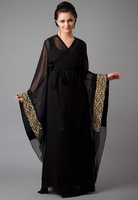 Latest Saudi Arabia and Dubai Abaya Designs 2018