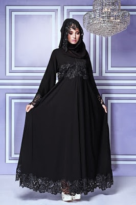Latest abaya collection with modern style