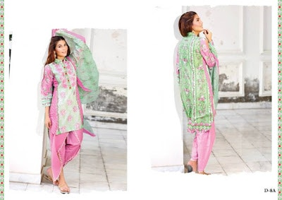 Latest designer dresses shariq textiles Collection 2018
