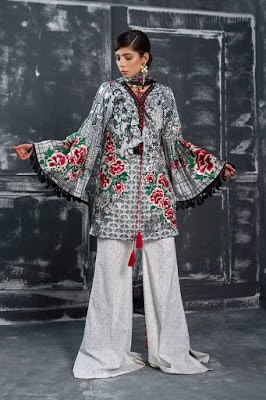 Latest designer lawn Collection 2018 for girls