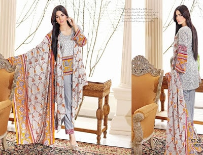 Libas Embroidered Lawn 2018 Spring Summer Dresses By Shariq