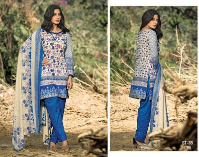 Libas Embroidered Lawn Collection 2018 by Shariq