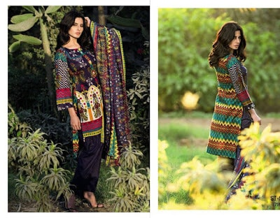 Libas Printed Lawn Collection 2018 By Shariq Textile
