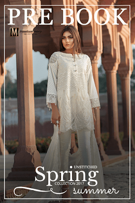 Mausummery pakistani lawn print Designs 2018 collection