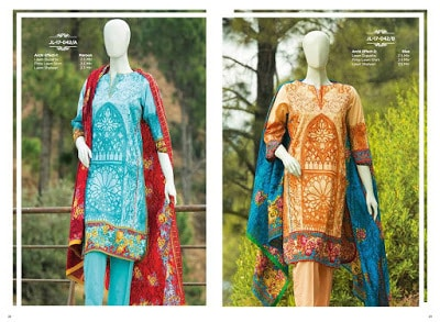 Mera Andaz J. Junaid Jamshed spring summer dresses Collection 2018 Vol. 1