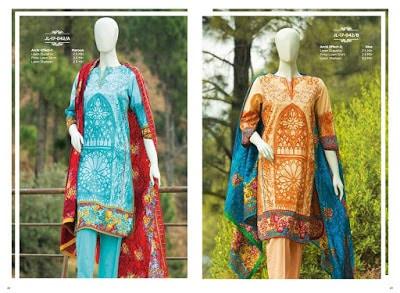 Mera Andaz J. Junaid Jamshed spring summer dresses Collection 2018 Vol. 1