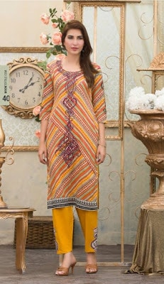 Moon Textile new summer Collection 2018 in Pakistan