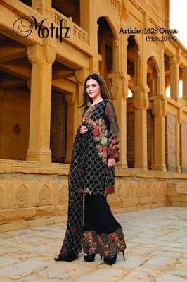 Motifz-premium-embroidered-formal-chiffon-dresses-2017-for-women-2