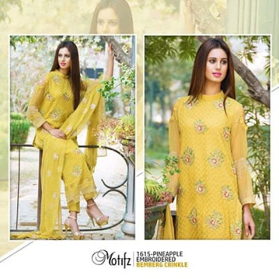 Motifz new dress design 2017 pakistani