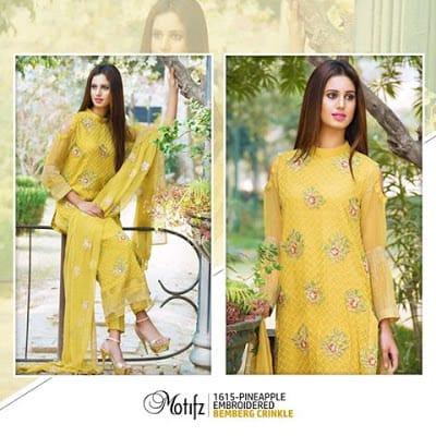 Motifz new dress design 2017 pakistani