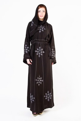 New stylish abaya Designs 2018 collection for girls
