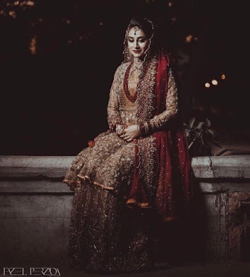 Pakistani Bridal Lehenga Dresses Designs & Styles