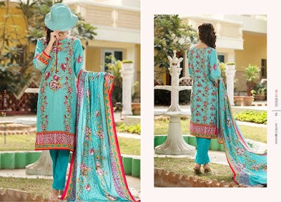 Pakistani spring classic lawn collection