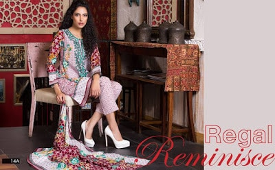Printed printed lawn summer dresses for women