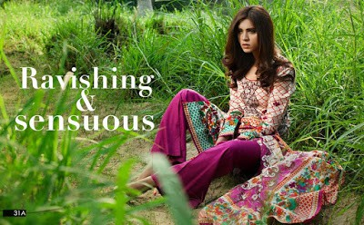Ravishing summer printed Lawn 2018 collection