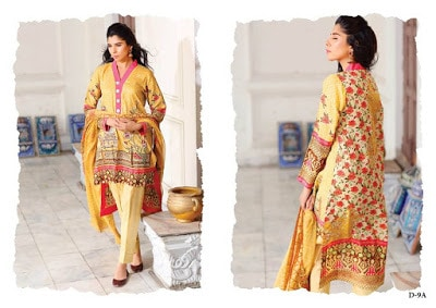 Reeva designer summer wear lawn dresses