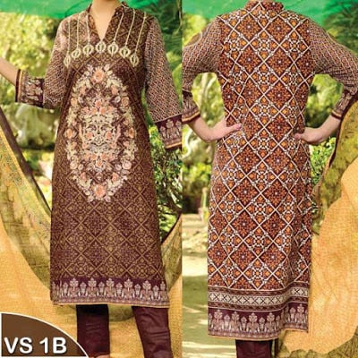 Reshma Embroidered Lawn Collection 2018 of VS Textile Mills