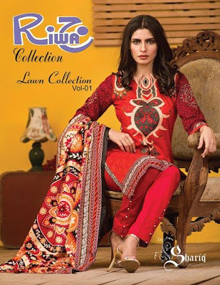 Riwaj summer lawn Collection 2018 Vol-1 for women