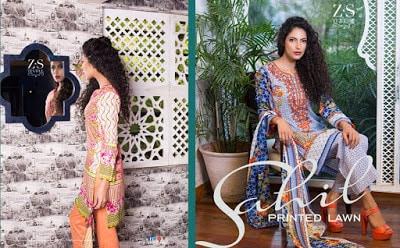 Sahil printed lawn kurti Dresses 2018