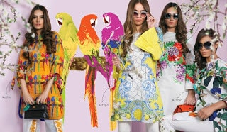 Sana Safinaz latest ready to wear summer lawn for women