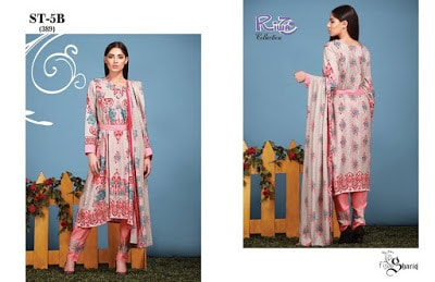 Shariq Textile Riwaj summer lawn dress design ideas