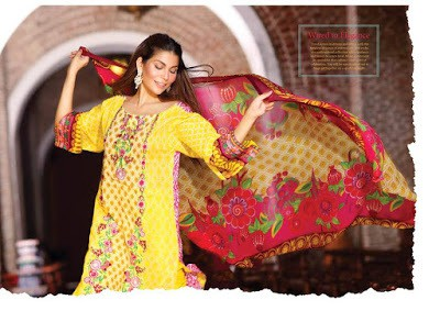 Shariq textiles beautiful lawn prints designer dresses