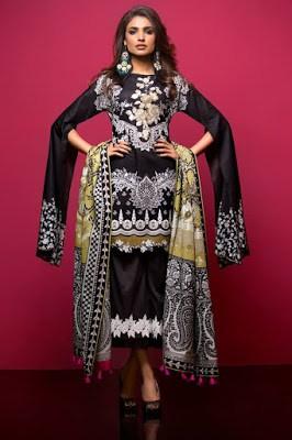 Thredz Unstitched Pre-Spring Lawn 2 Piece Dresses Collection 2018