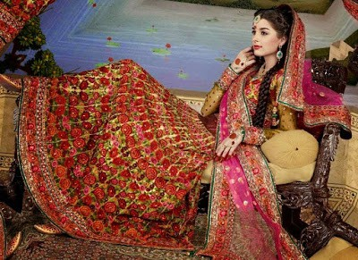 Traditional-indian-bridal-wear-lehenga-designer-collection-2017-1