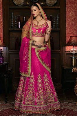 Traditional-indian-bridal-wear-lehenga-designer-collection-2017-6