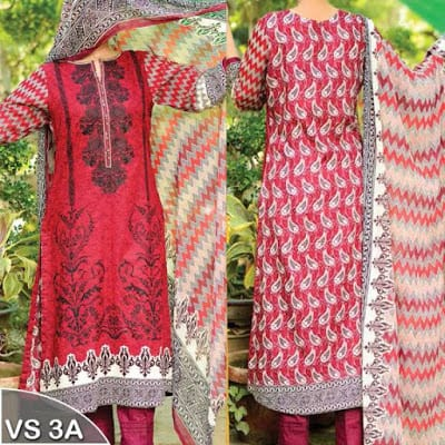 VS textile embroidered dresses for women