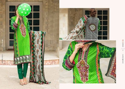 VS textile lawn dresses for women