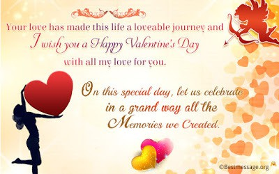 cute valentines day quotes for wife with images