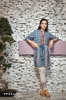 khaadi-summer-lawn-collection-2017-with-chiffon-dupatta