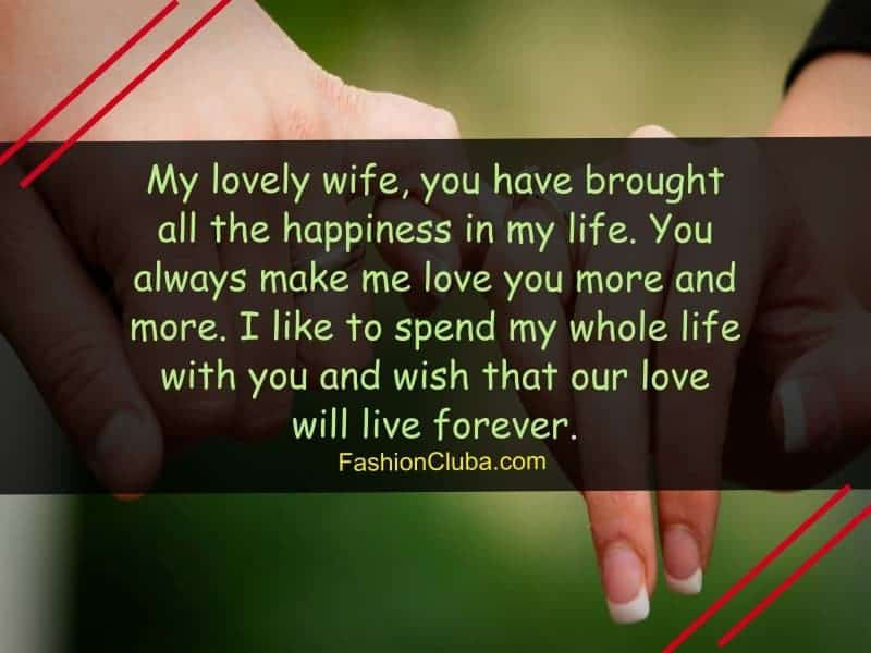 love text messages and wishes for wife