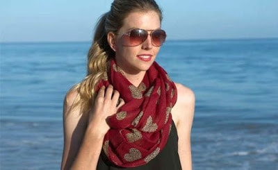 Best-Ways-To-Wear-An-Infinity-Scarf-in-Summer-For-Attractive-Look-2
