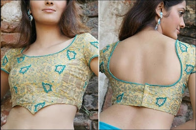 Fancy-saree-blouse-back-neck-designs-pattern-for-women-8