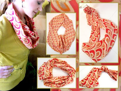 How to make a scarf an infinity scarf