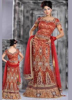 Indian-Stylish-Bridal-Lehenga-Choli-Collection