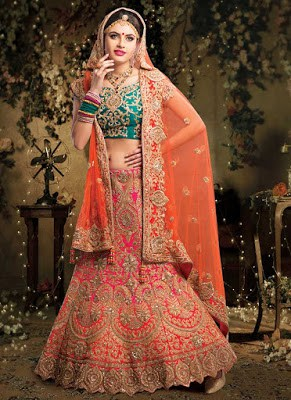 Indian-bridal-designers-lehenga-designs-2017-collection-1