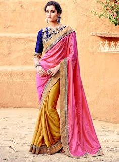 Indian-stylish-crepe-lehenga-silk-sarees-to-keep-you-fashionable-10