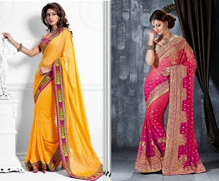 Indian-stylish-crepe-lehenga-silk-sarees-to-keep-you-fashionable-11