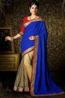 Indian-stylish-crepe-lehenga-silk-sarees-to-keep-you-fashionable-3